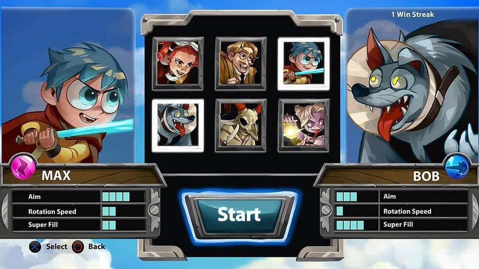 Adventure Pop portfolio example game characters