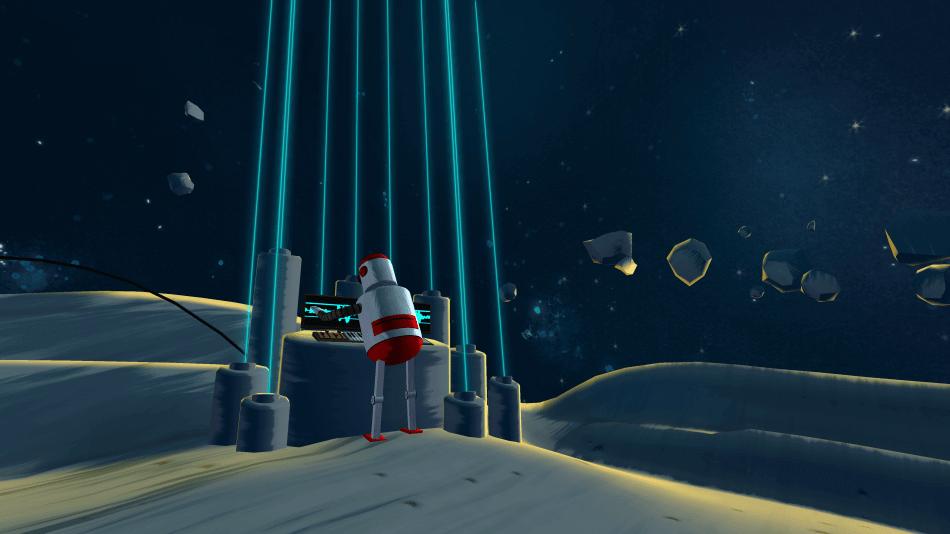 Bedtime Virtual Reality Stories portfolio game art