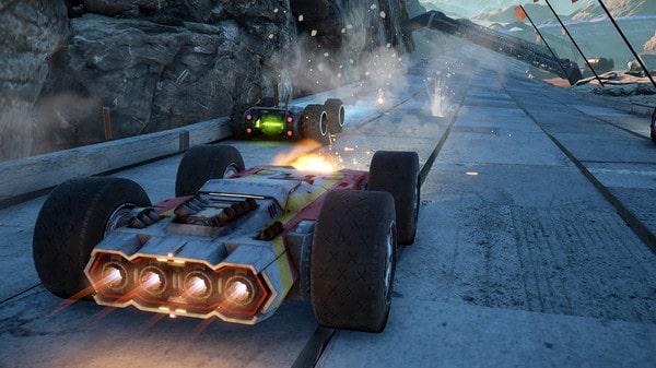 grip multiplatform racing game development