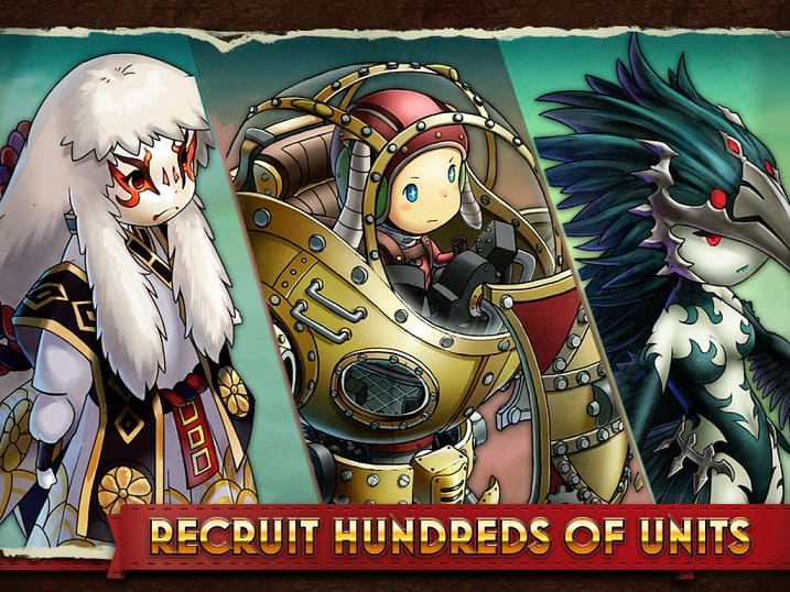 Heavenstrike Rivals great characters designed