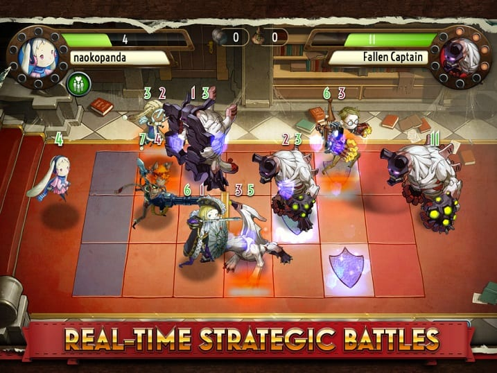 Heavenstrike Rivals real time strategic battles