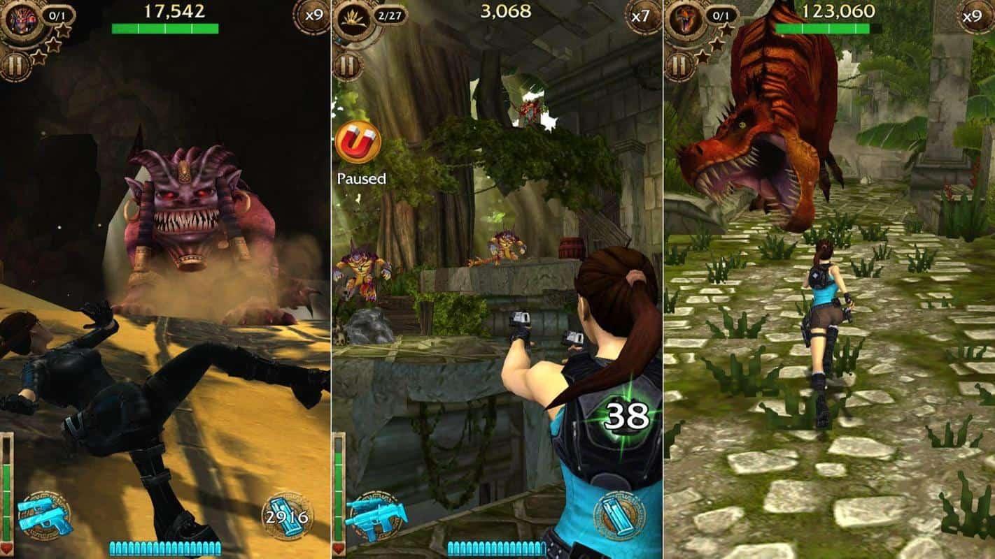 Lara Croft Relic Run mobile game