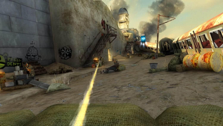 Overkill Virtual reality game art design