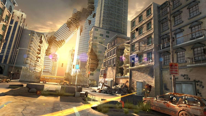 Overkill Virtual reality game shooter