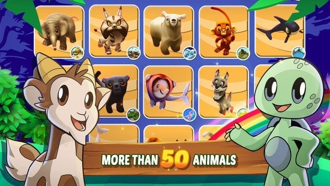 Zoo evolution game animals