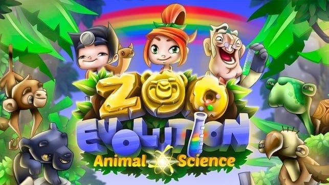 Zoo evolution game animal science game