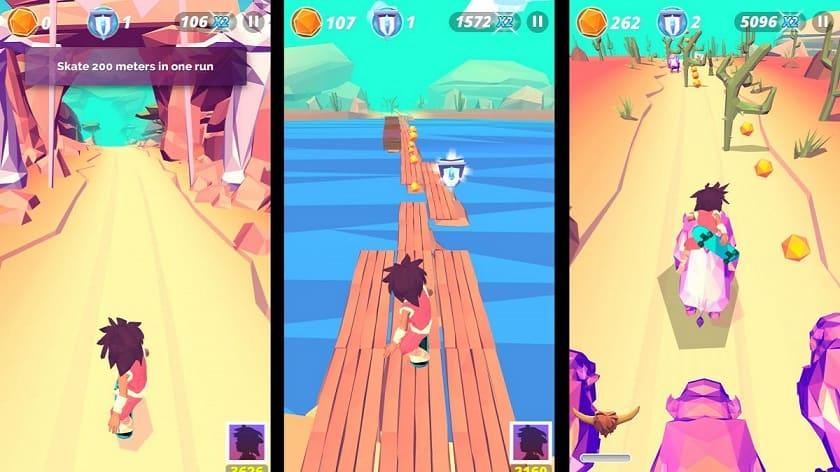 skate game developed by starloop studio