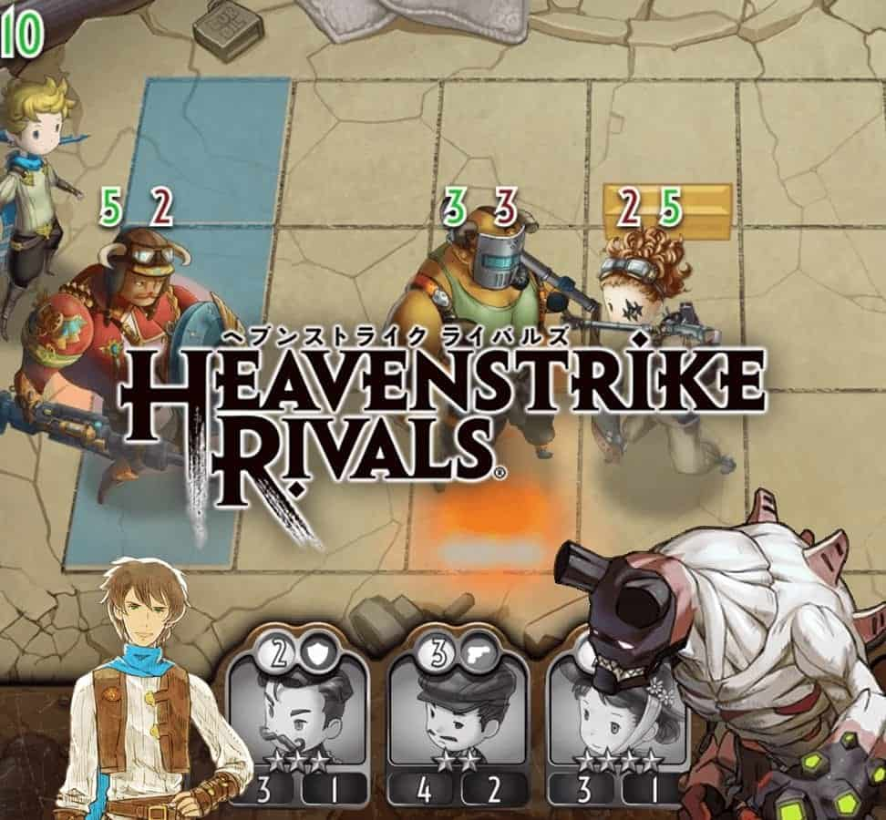 Built specifically for mobile devices, Heavenstrike Rivals lets players engage in simple and deep tactical combat
