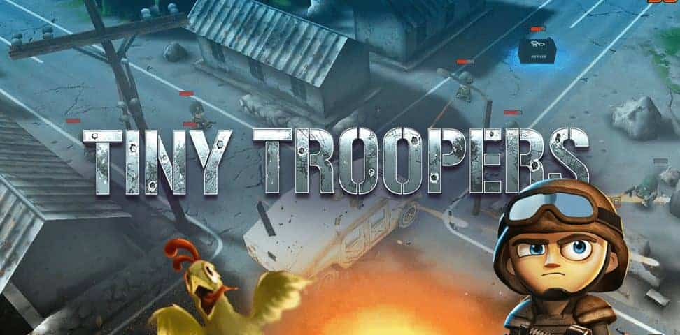 Tiny troopers game developed by starloop studios