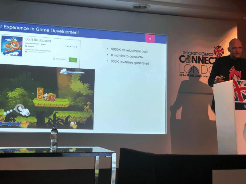 Evento Pocket Gamer en Londres