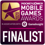 Starloop PocketGamer Finalist banner