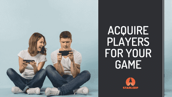 adquire players for your game