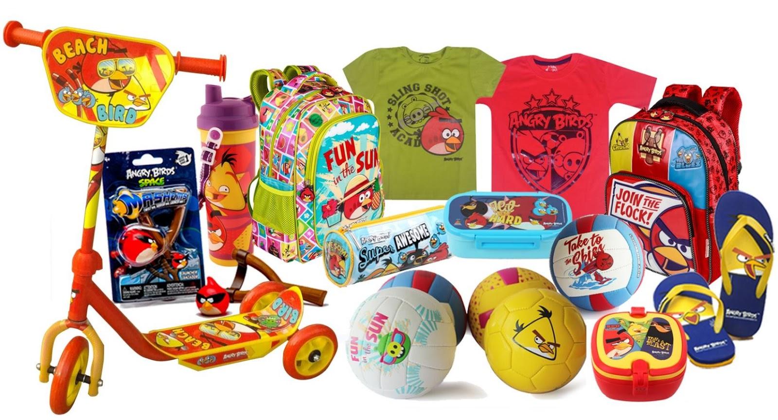Angry Birds Merchandise image