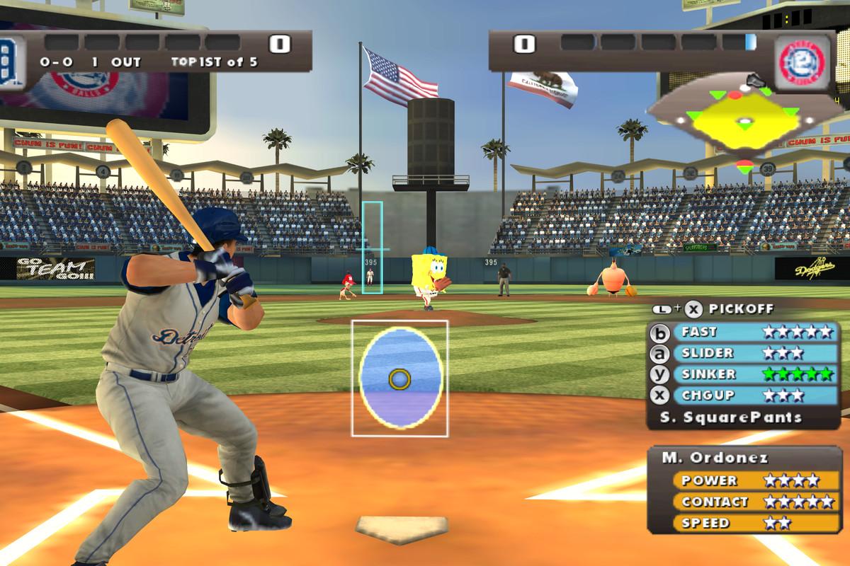 baseball video game