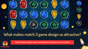 match 3 game development banner