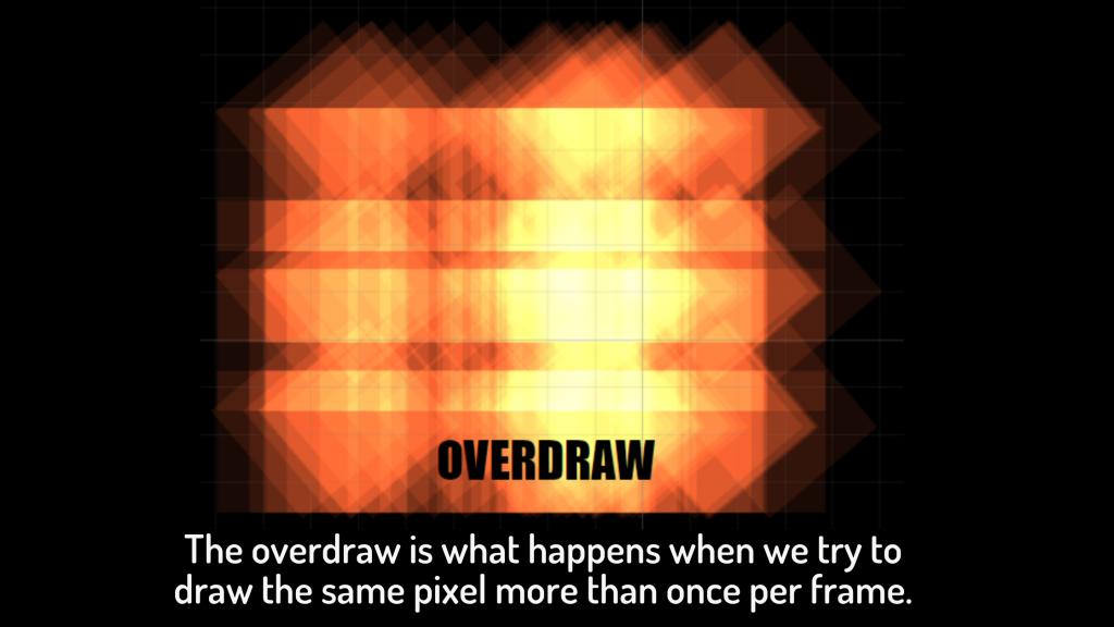 Overdraw image