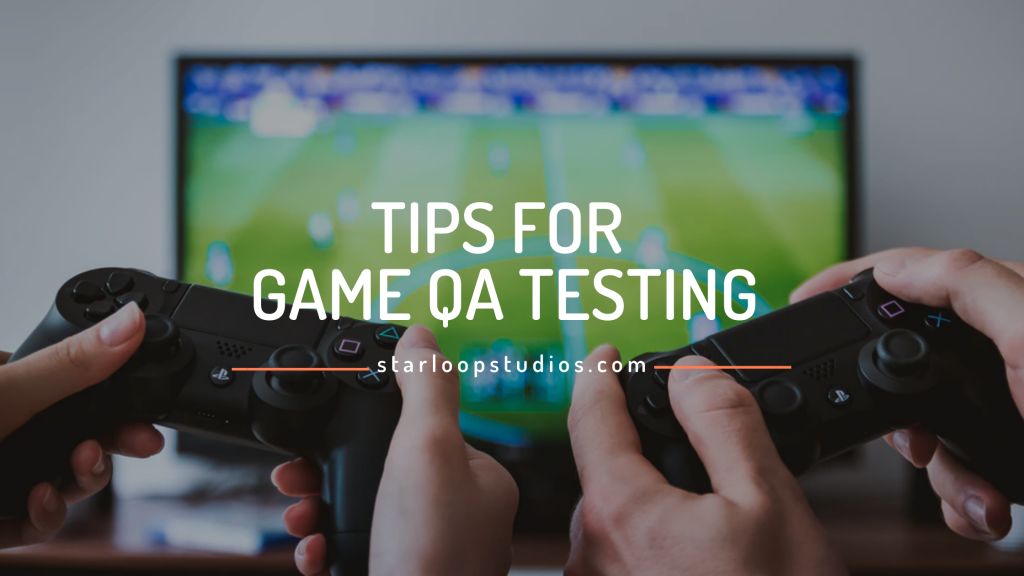 Tips of Game Testing banner
