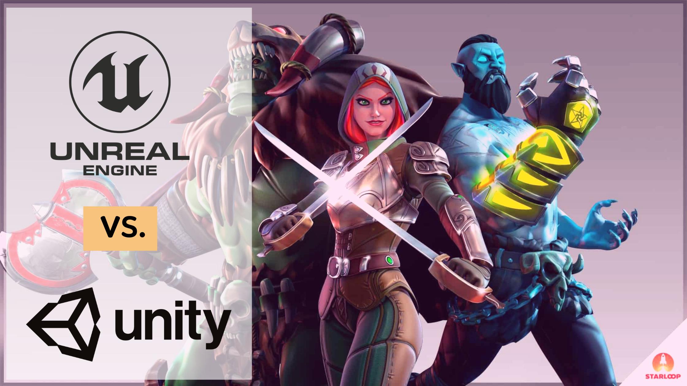 Unreal vs. Unity 3D