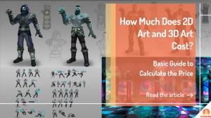 Cuánto Cuestan el Arte 2D y el Arte 3D Banner Principal