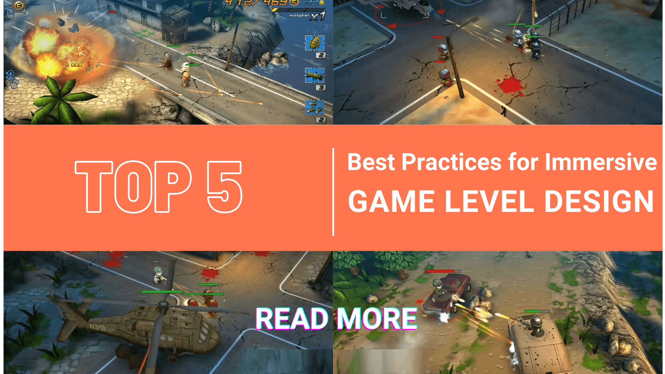 game level design banner