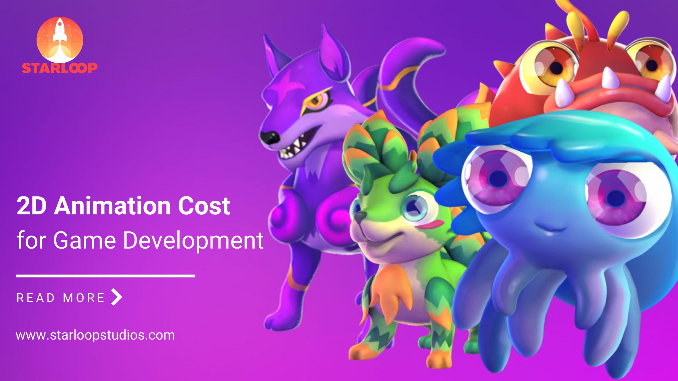 Coste de la Animación 2D Banner Principal
