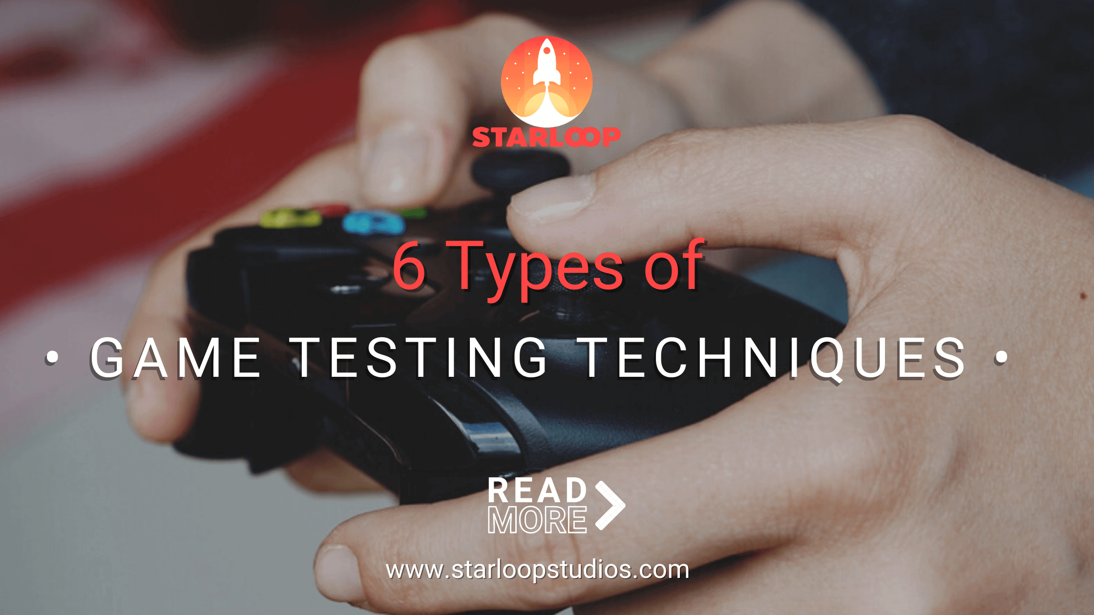 Types of game testing techniques