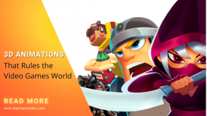 Types of 3D Animation that Rules the Video Games World
