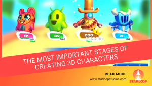 3D Characters main banner