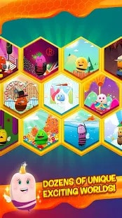 disco bees levels and worlds