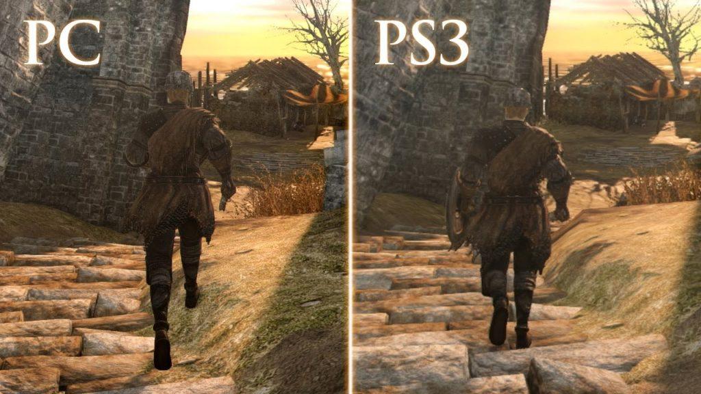 quality graphics in pc VS quality graphics in PS3