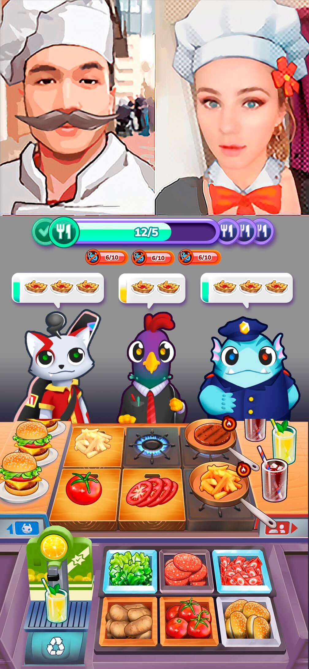 mons chef game