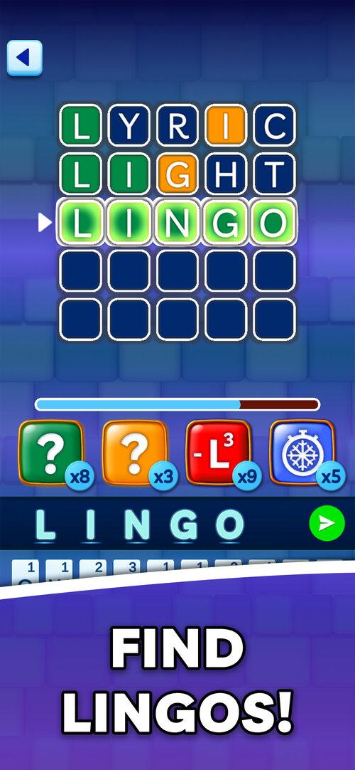 lingo find lingos